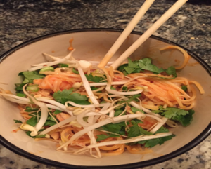 Spicy Pad Thai
